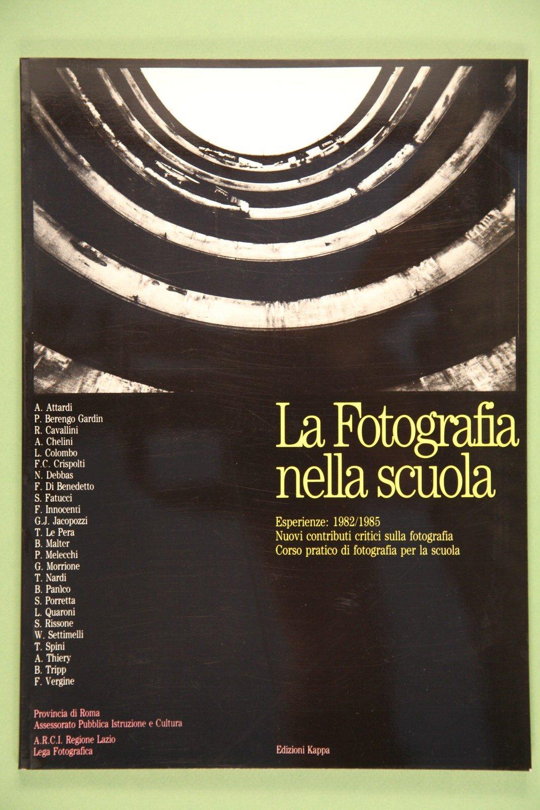 Copertina del libro Fotografia nella scuola