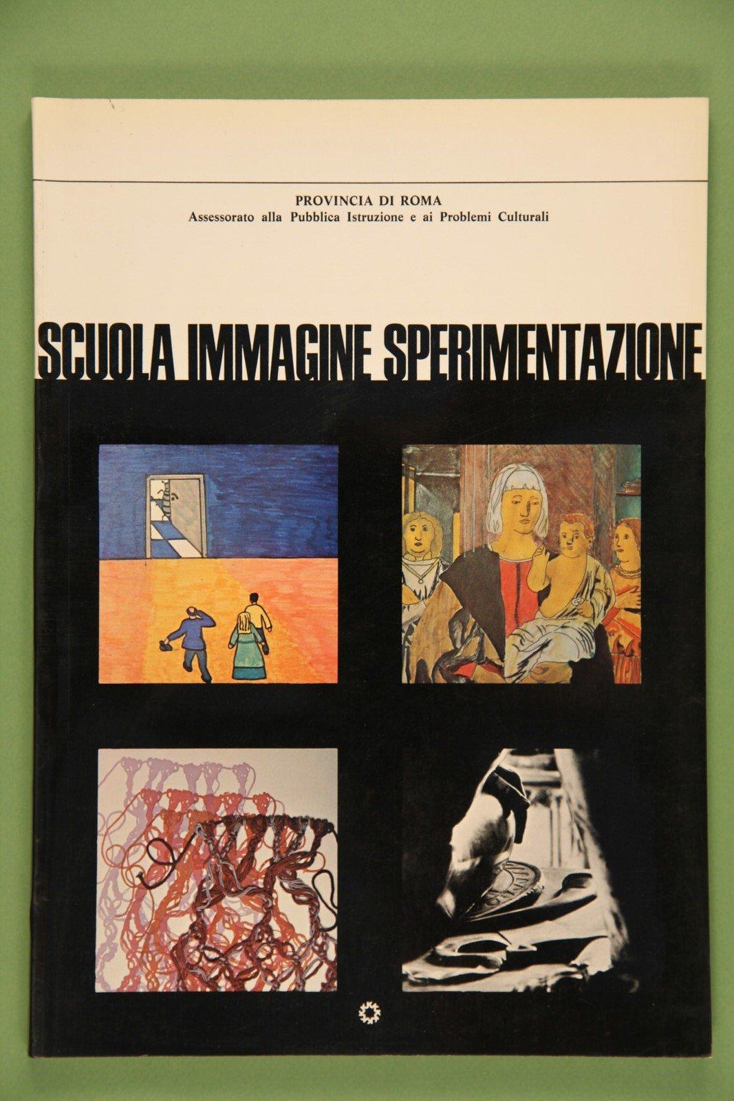 Copertina del libro Scuola, immagine e sperimentazione